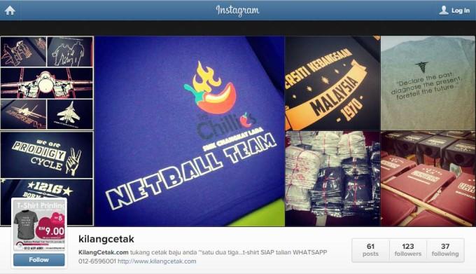 Follow Kami di Instagram @kilangcetak BANYAK GAMBAR DI SANA