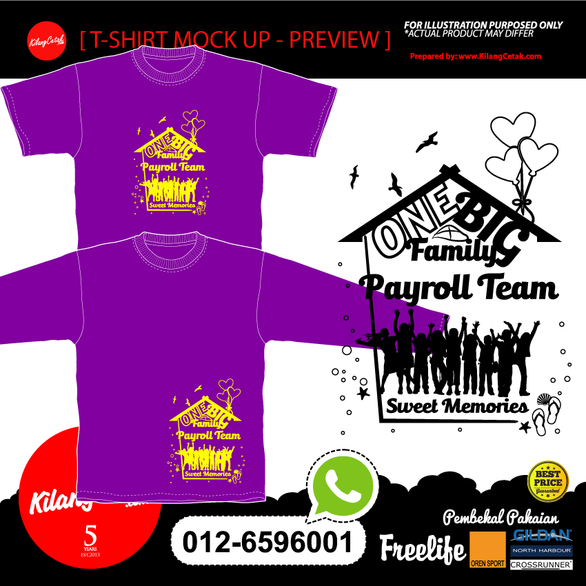 Design Baju Family Day Januari 2019