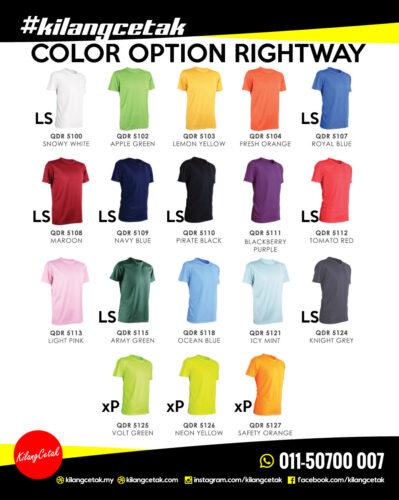 pilihan warna baju family day