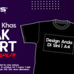 Rians Cetak T-Shirt Dari RM9.90 Sehelai
